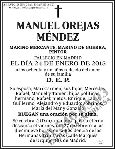 Manuel Orejas Méndez
